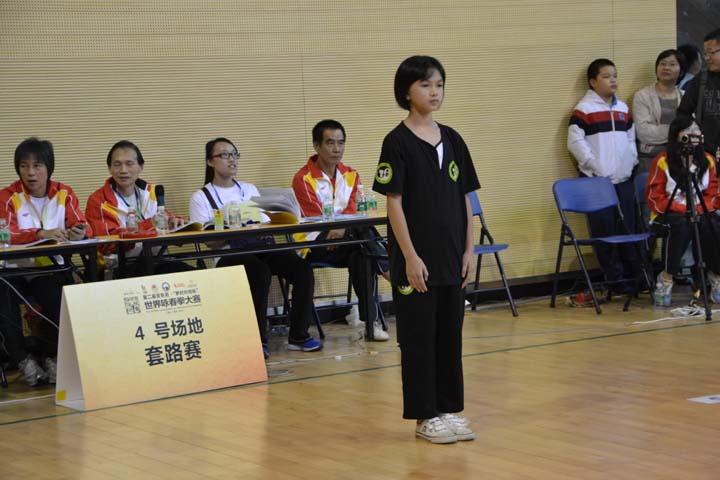 """第二届""""罗村叶问杯""""世界咏春拳大赛"""
