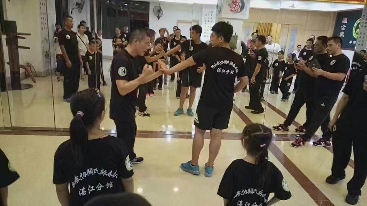 关氏咏春拳馆湛江分馆展示