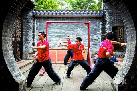 2020年内佛山将完成推动咏春拳申报国家级非遗